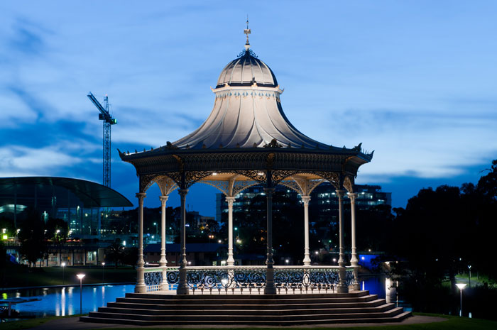 Elder Park Rotunda in Adelaide