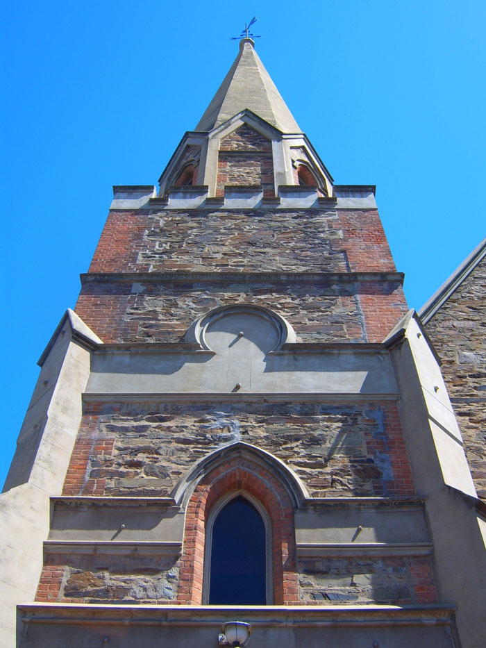 Face Shot of a Church in Adelaide