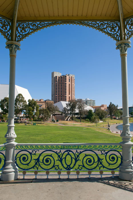 Part of the Adelaide Skyline