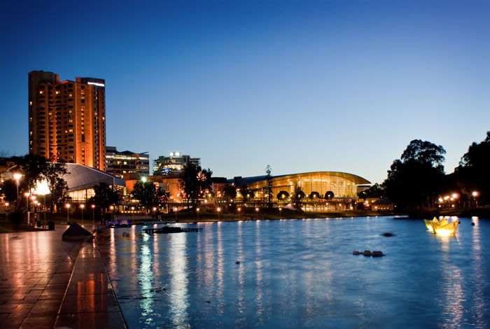 The River Torrens in Adelaide