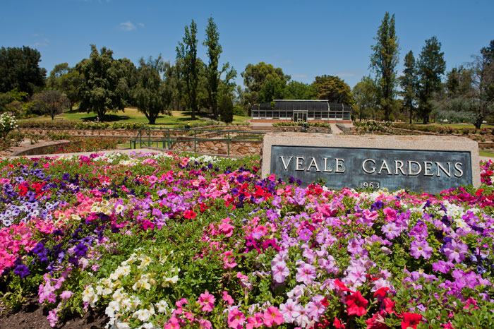 Veale Gardens in Adelaide